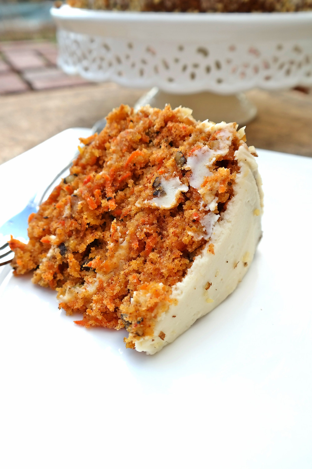 The Ultimate Carrot Cake | eatlovegarlic.com @eatlovegarlic