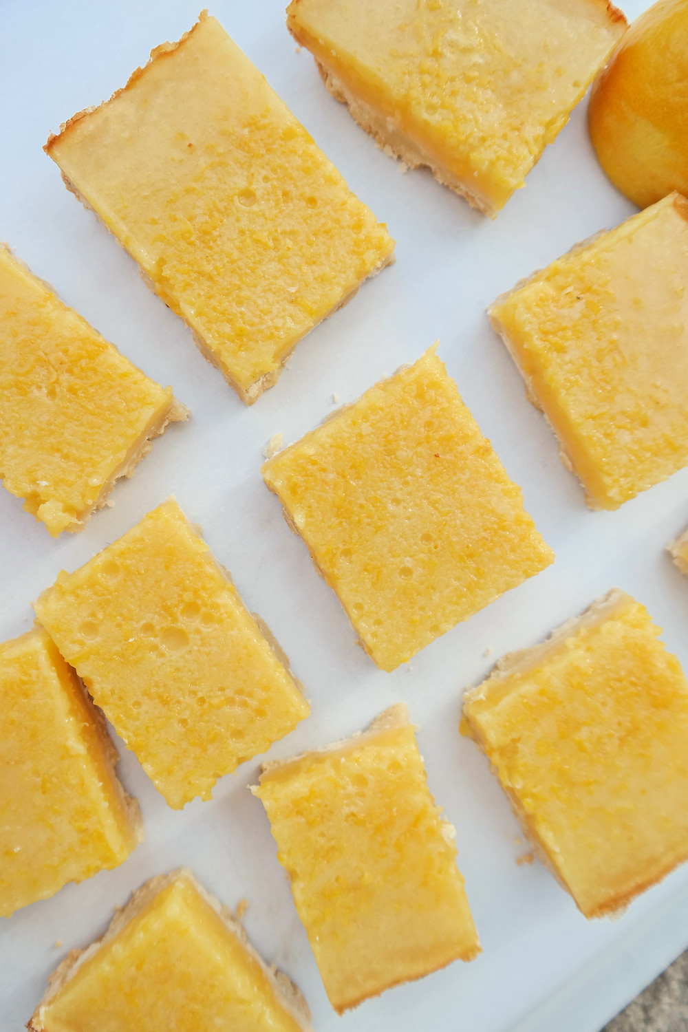 Lemon Bars with a Shortbread Crust | eatlovegarlic.com @eatlovegarlic
