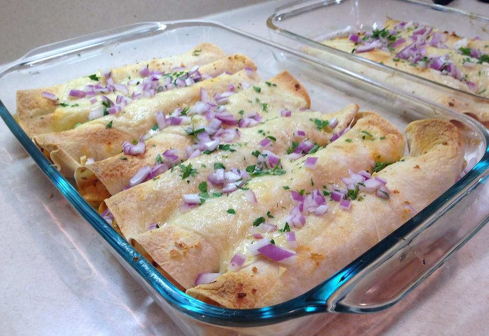 Chipotle, Garlic Chicken Flautas  | eatlovegarlic.com @eatlovegarlic