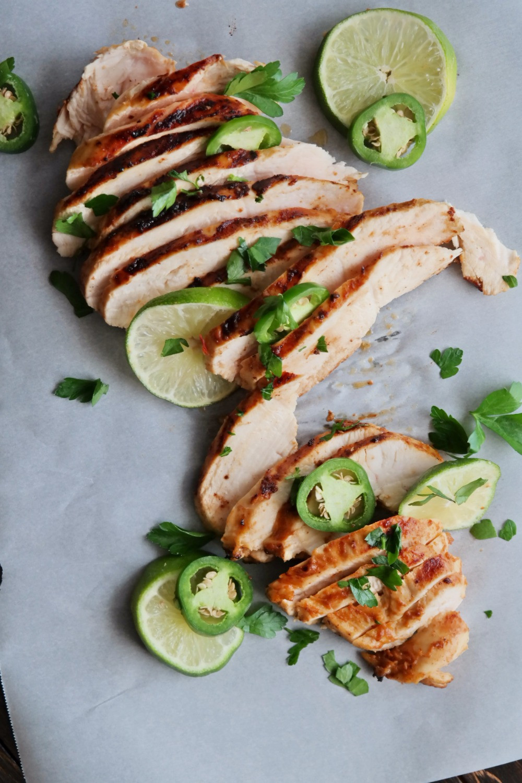 Chipotle Lime Chicken | eatlovegarlic.com @eatlovegarlic