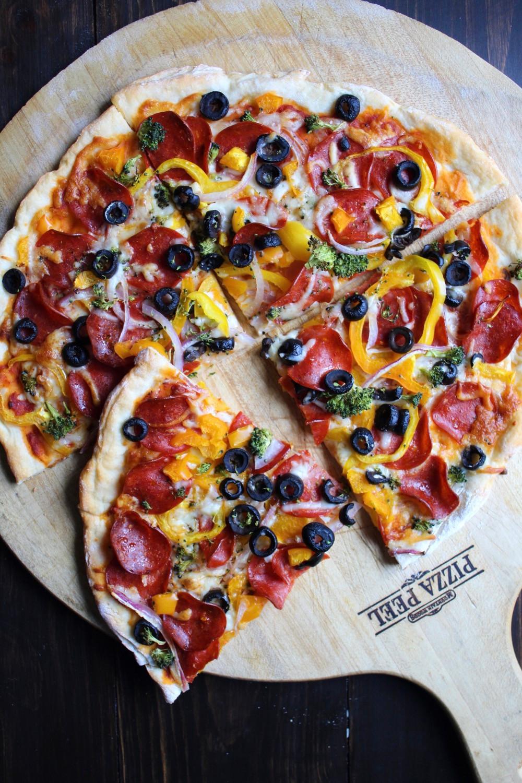 Supreme Pizza | eatlovegarlic.com
