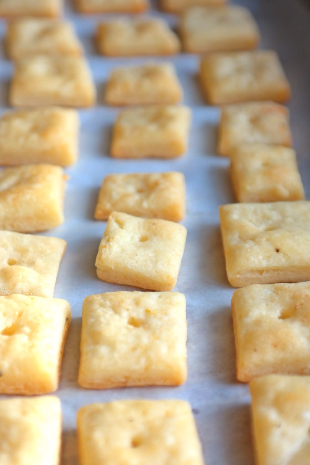 Roasted Garlic & White Cheddar Oak Cheezits | eatlovegarlic.com @eatlovegarlic