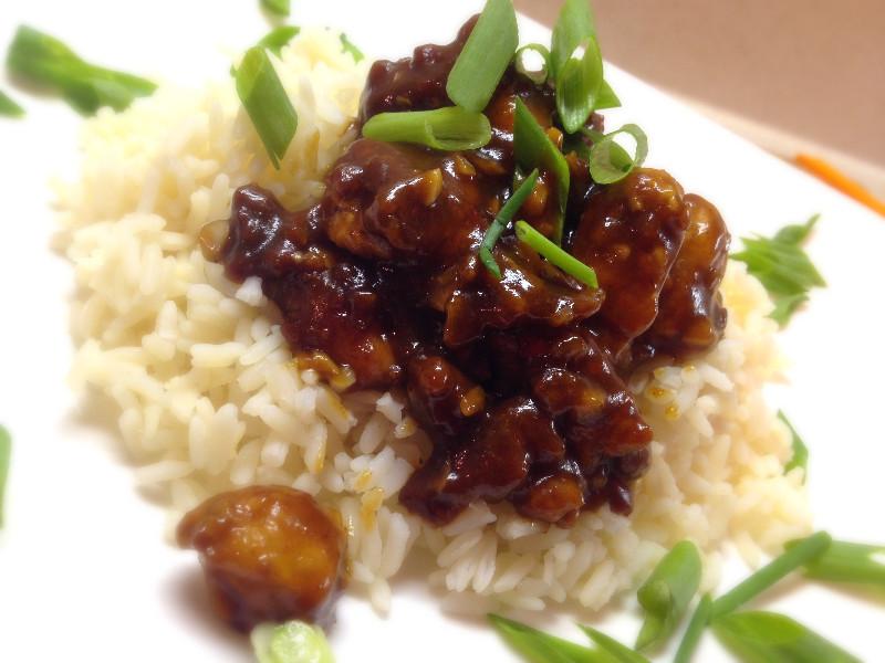 General Tso | eatlovegarlic.com @eatlovegarlic