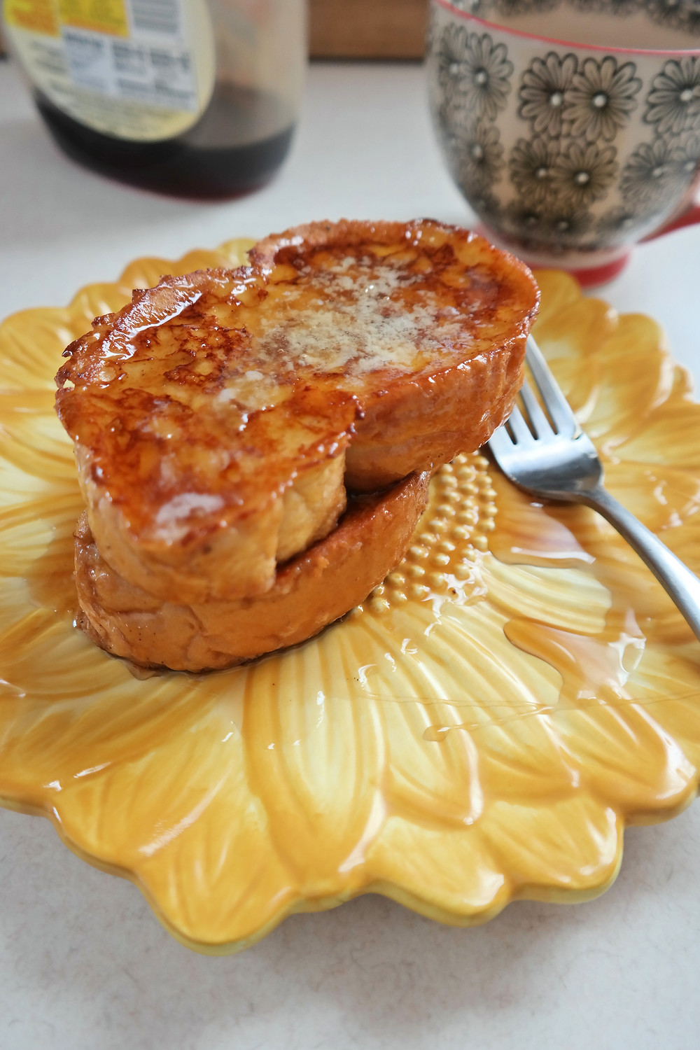 Perfect French Toast | eatlovegarlic.com @eatlovegarlic