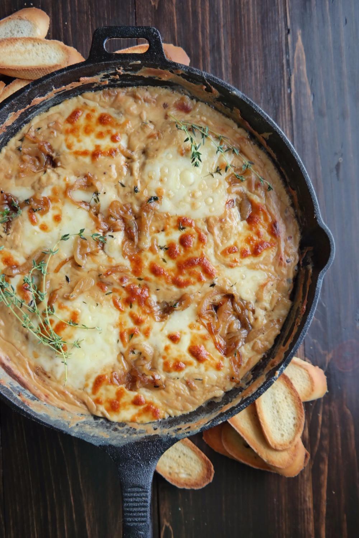 French Onion Dip | eatlovegarlic.com @eatlovegarlic