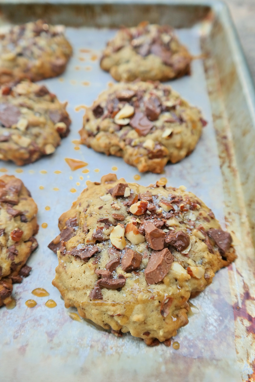 Salted Caramel Mocha Cookie | eatlovegarlic.com @eatlovegarlic