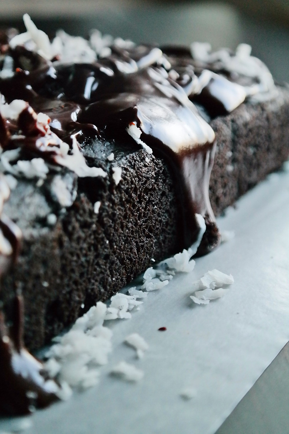 Deadliest Chocolate Coconut Cake | eatlovegarlic.com @eatlovegarlic