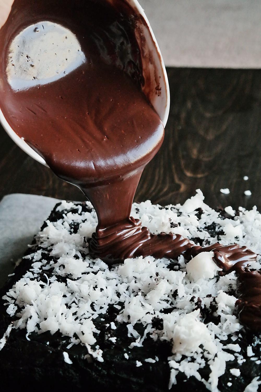 Deadliest Chocolate Coconut Cake   eatlovegarlic.com @eatlovegarlic