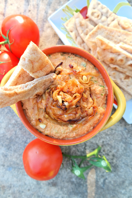 Tomato Bisque Dip | eatlovegarlic @eatlovegarlic