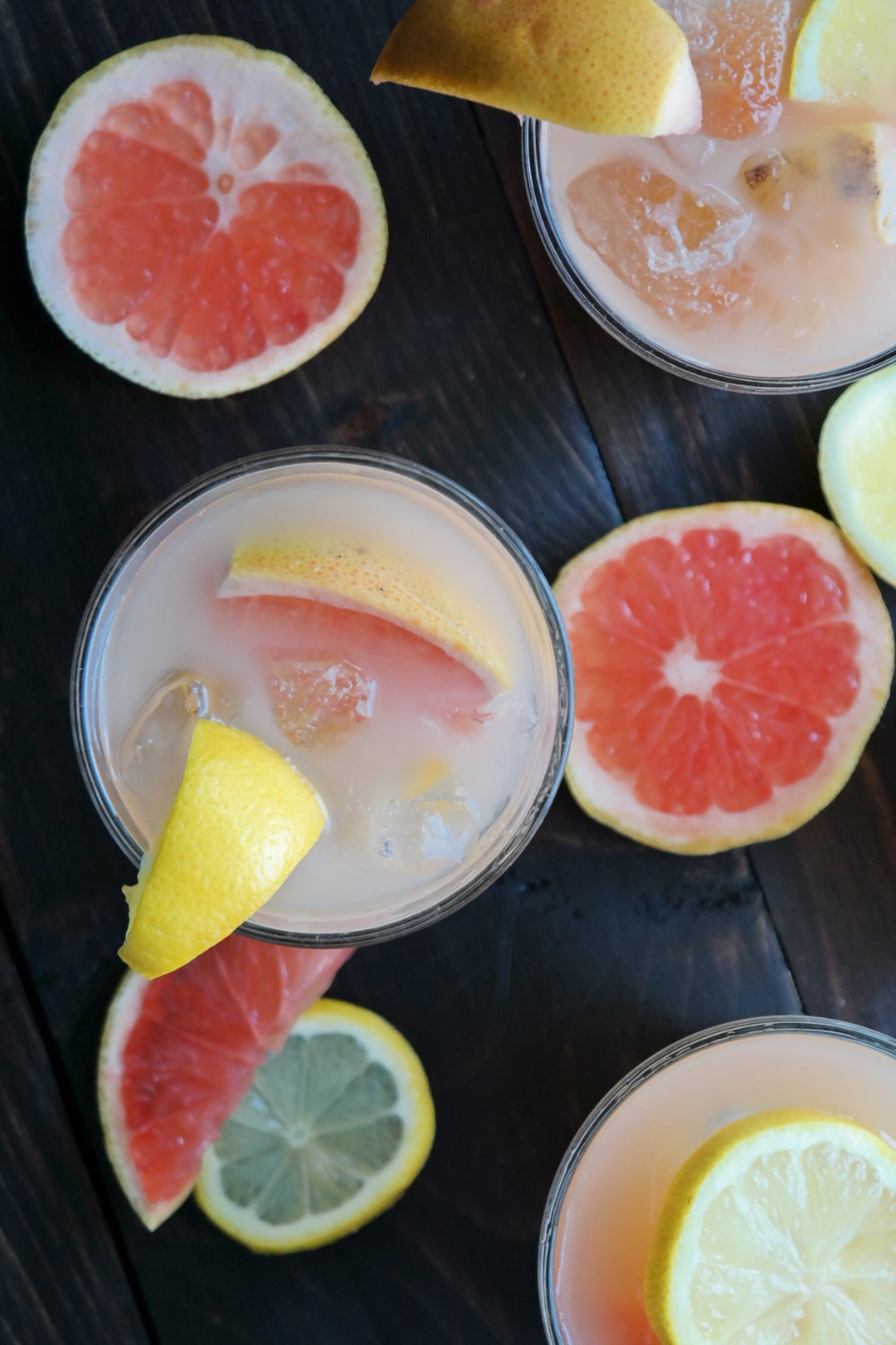 Grapefruit & Meyer Lemon Crush