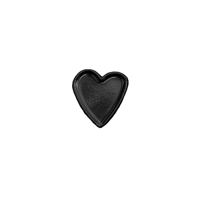 LITTLE BLACK HEART PIN