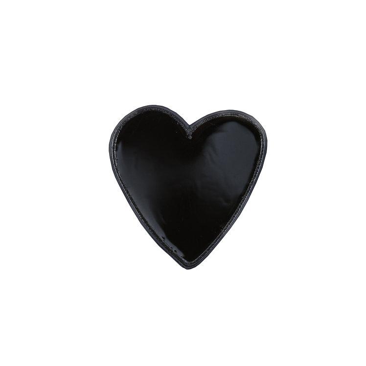 """Enamel Pin """"Little Black Heart"""""""
