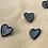 "Thumbnail: Enamel Pin ""Little Black Heart"""