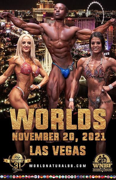 2021 INBF WNBF World Championships 32 La
