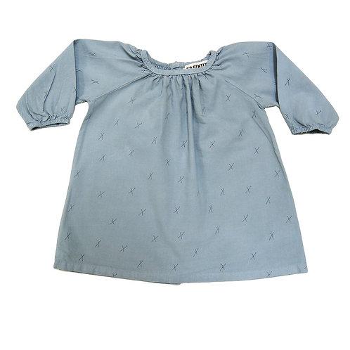 Teardrop Dress - Mineral Blue