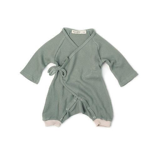Kimono Romper - Green