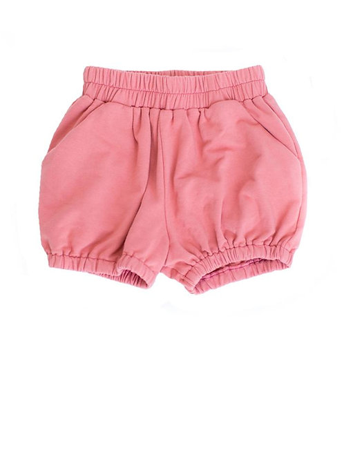Bubble Shorts in Coral