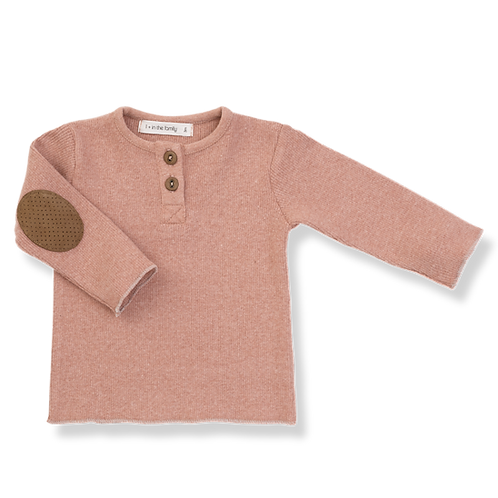 Dani Shirt w/Patch - Rose