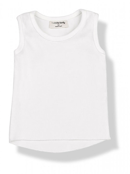 One More in the Family - Tatlin Tank - Off White