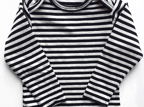 Baby Thermal Top - Jersey Stripe