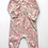 Thumbnail: Ruched Romper - Melody on Coral