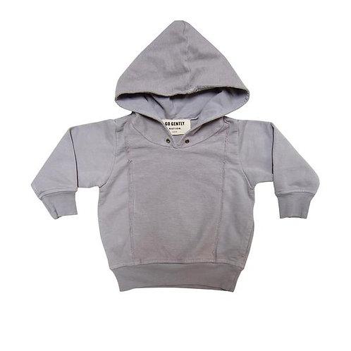 Panel Sweatshirt - Ash Gray