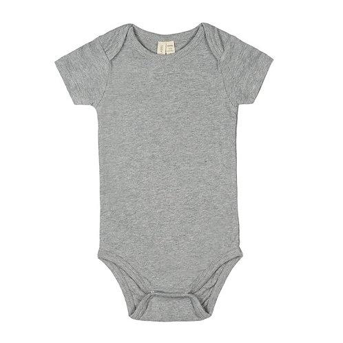 Baby Onesie - Grey Melange