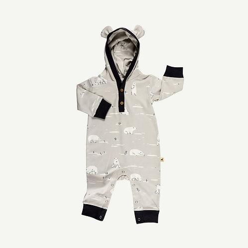 Bear Jumpsuit - Polar Guardian Grey