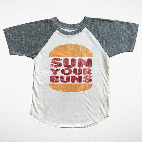 Sun Your Buns Short Sleeved Raglan