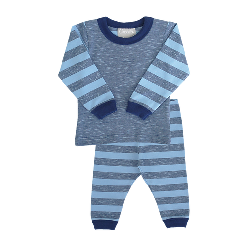 Pajama Set - Dream Blue Stripes