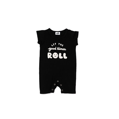 Shorts Romper - Good Times Roll