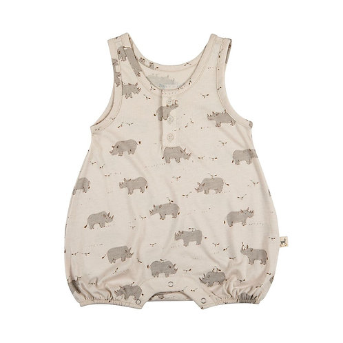 Tank Romper - Single Rhino
