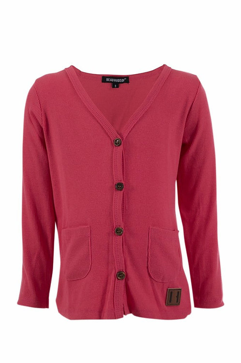 Signature Cardigan - Watermelon Pink