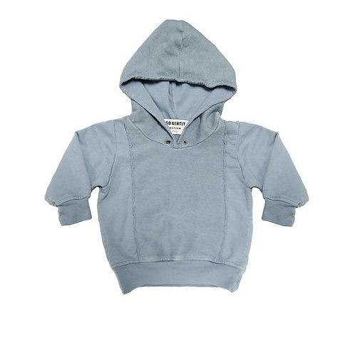 Panel Sweatshirt - Mineral Blue