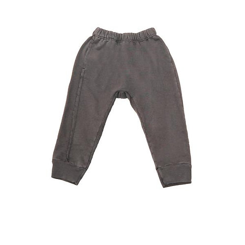 Raw Seam Track Pant - Charcoal