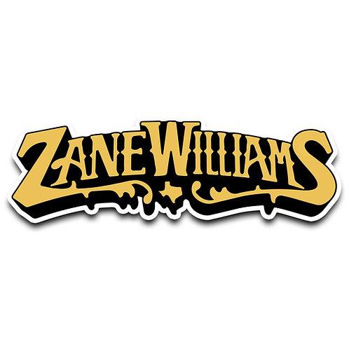 Zane Logo Sticker