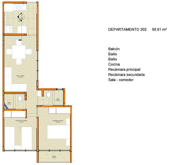 Trebol 31 - Sheet - R14 - Departamento 3