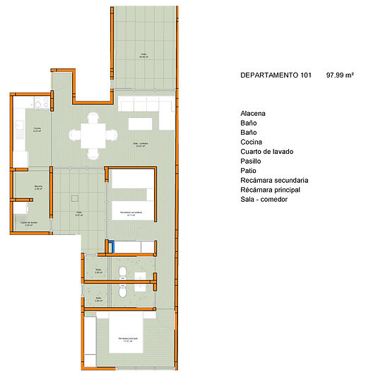Trebol 31 - Sheet - R08 - Departamento 1