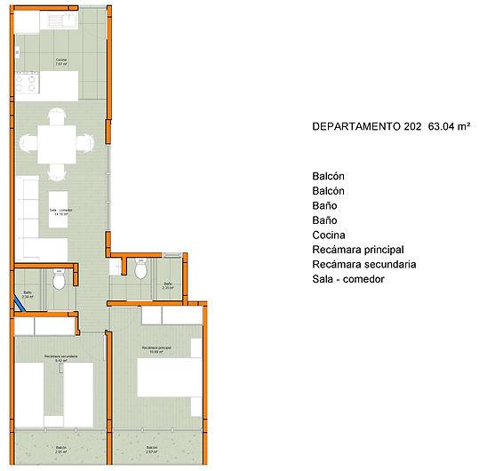 Trebol 31 - Sheet - R11 - Departamento 2