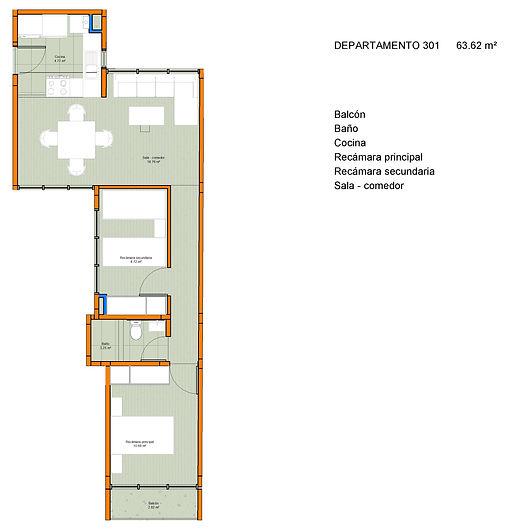 Trebol 31 - Sheet - R13 - Departamento 3