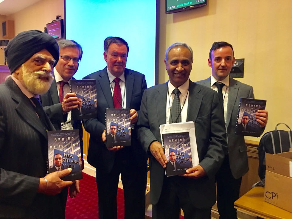 Behind the Blue Line - Book Launch