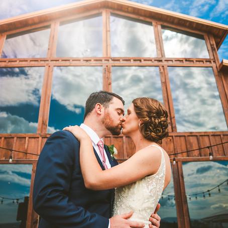 Molly & Eric's Summer Wedding at Faithbrooke Barn