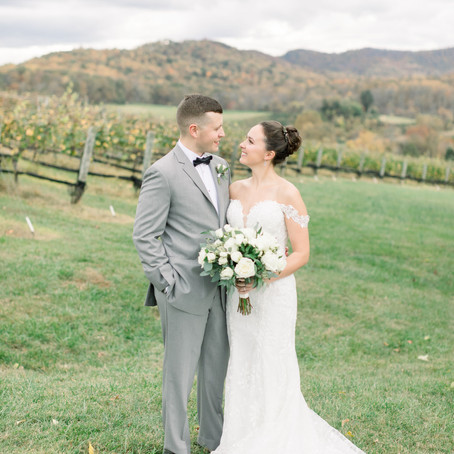 Kimberly & Regis's Autumn Mountain Wedding at Pippin Hill Farm