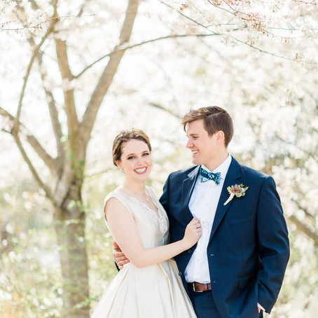 Courtney & Spencer's Preppy Spring Wedding at Ford's Colony Country Club
