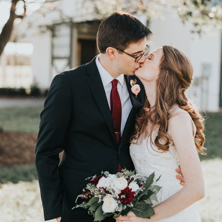Anna & Dylan's October King Family Vineyards Wedding
