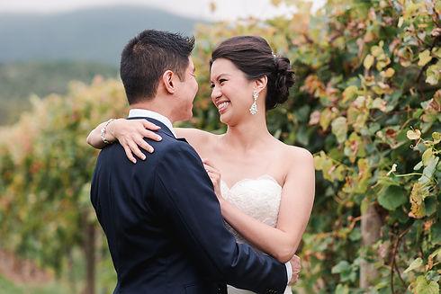 Victoria and Aaron Veritas Vineyard and