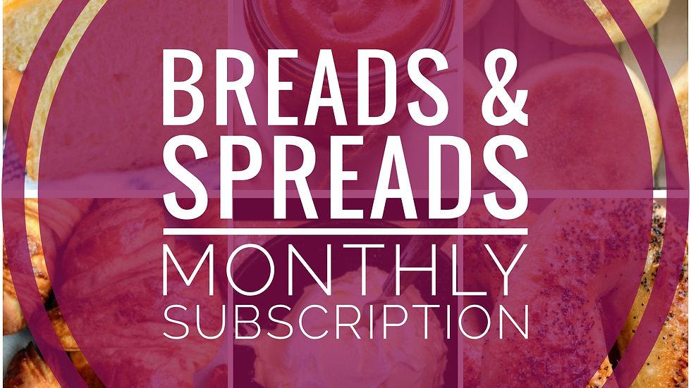 Brunch Breads & Spreads