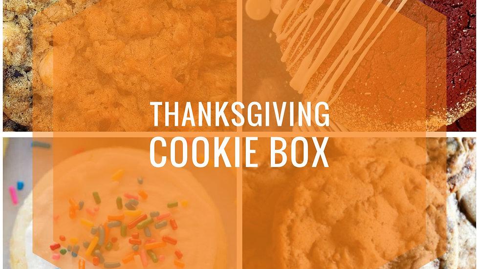 Thanksgiving Cookie Box