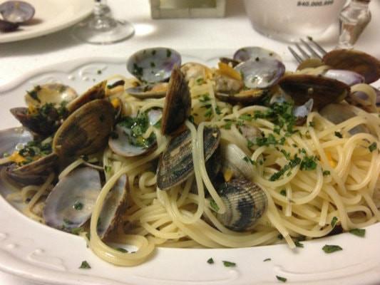 Spaghetti al Vongole - Lingurian Coast Italy