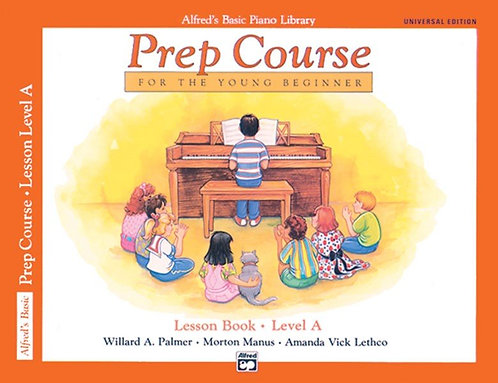 ALFRED'S BASIC PIANO LIBRARY - Prep course for the young beginner